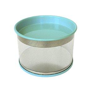Latinha Metálica Azul para Lembrancinha - 6 unidades - Artlille - Rizzo Festas