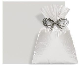 Saco Perolado com Aba Adesiva Prata Fosco 8x8cm - 100 unidades - Cromus - Rizzo Embalagens