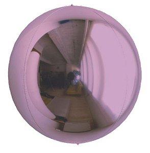Balão Metalizado Esphera Lilás 24'' - 01 unidade - Sempertex Cromus - Rizzo Festas