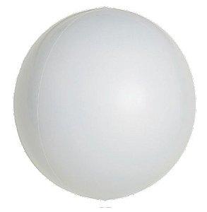 Balão Metalizado Esphera Branco 24'' - 01 unidade - Sempertex Cromus - Rizzo Festas