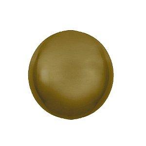 Balão Bubble Ouro 18'' 45cm - 5 unidades - Sempertex Cromus - Rizzo Festas