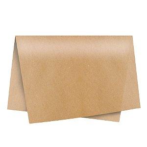 Papel de Seda - 49x69cm - Kraft - 10 folhas - Rizzo Embalagens