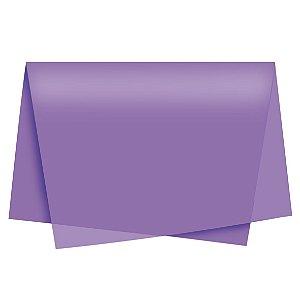 Papel de Seda - 49x69cm - Roxo - 10 folhas - Rizzo Embalagens