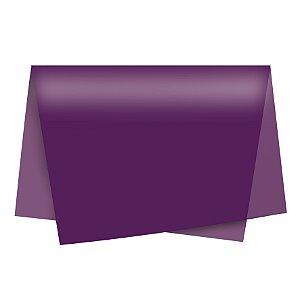 Papel de Seda - 49x69cm - Ameixa - 10 folhas - Rizzo Embalagens