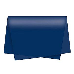 Papel de Seda - 49x69cm - Azul Marinho - 10 folhas - Rizzo Embalagens