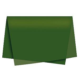 Papel de Seda - 49x69cm - Musgo - 10 folhas - Rizzo Embalagens