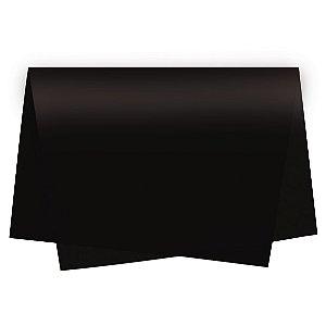 Papel de Seda - 49x69cm - Preto - 10 folhas - Rizzo Embalagens