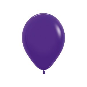 Balão de Festa Latex R10'' 25cm - Fashion Violeta - 50 unidades - Sempertex Cromus - Rizzo Festas