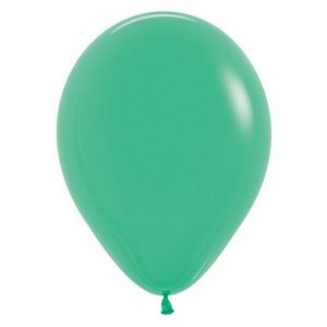 Balão de Festa Latex R12'' 30cm - Fashion Verde - 50 unidades - Sempertex Cromus - Rizzo Festas
