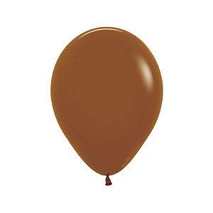 Balão de Festa Latex R10'' 25cm - Fashion Caramelo - 50 unidades - Sempertex Cromus - Rizzo Festas