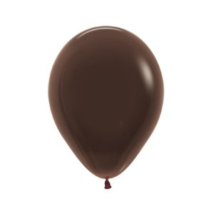 Balão de Festa Latex R10'' 25cm - Fashion Chocolate - 50 unidades - Sempertex Cromus - Rizzo Festas