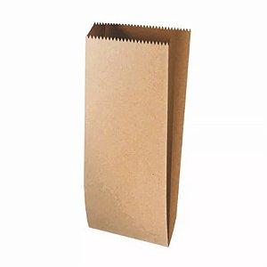 Saquinho de Papel Pardo - 27 x 10 x 3,5cm - 25 unidades - Rizzo Embalagens