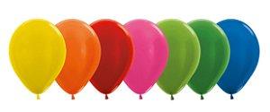Balão de Festa Latex R10'' 25cm - Sortido Metal - 50 unidades - Sempertex Cromus - Rizzo Festas