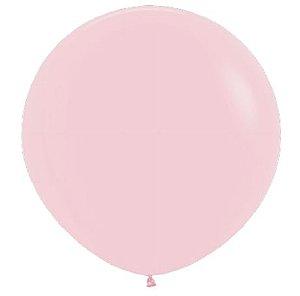 Balão de Festa Latex R36'' 91,5cm - Pastel Rosa Matte - 02 unidades - Sempertex Cromus - Rizzo Festas