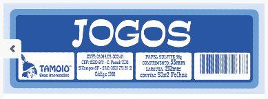 Ficha Jogos - 100 Fichas - Tamoio - Rizzo Embalagens