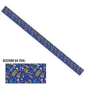 Tiras de Papel Festa Junina Brasil P para Embalagens - 5 Unidades - Rizzo Embalagens