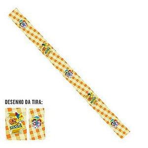 Tiras de Papel Festa Junina Arraiá Amarelo P para Embalagens - 5 Unidades - Rizzo Embalagens