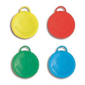 Acessório Peso para Balão Redondos Sortido 08g - 10 unidades - Cromus - Rizzo Festas
