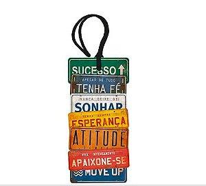 Tag Decorativa MDF Placas - LitoArte - Rizzo Embalagens