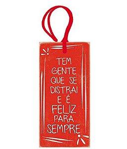 Tag Decorativa MDF Tem Gente... - LitoArte - Rizzo Embalagens