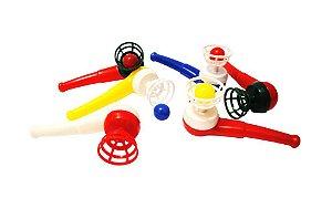 Mini Brinquedo Cachimbo Colorido Sortido - 4,6 x 9,7cm - 12 Unidades - Dodo Brinquedos - Rizzo Embalagens