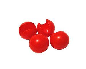 Nariz de Palhaço Vermelho - 4 x 4cm - 20 Unidades - Dodo Brinquedos - Rizzo Embalagens