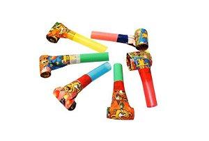 Mini Brinquedo Língua de Sogra Colorido Sortido - 8 x 2,6cm - 50 Unidades - Dodo Brinquedos - Rizzo Embalagens