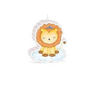 Vela Especial Leãozinho Festa Bichinhos Baby - Cromus - Rizzo Festas