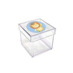 Caixinha Acrílica para Lembrancinha Festa Bichinhos Baby - 20 unidades - Rizzo Festas