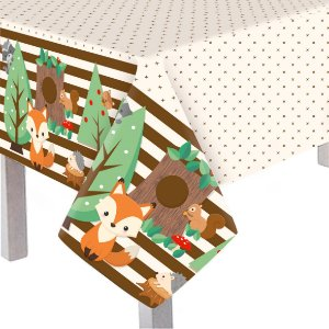 Toalha De Mesa Principal Festa Bosque - Cromus - Rizzo Festas