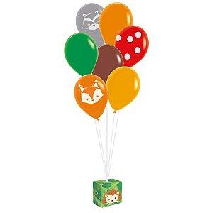 Kit Balões Festa Bosque - Cromus - Rizzo Festas