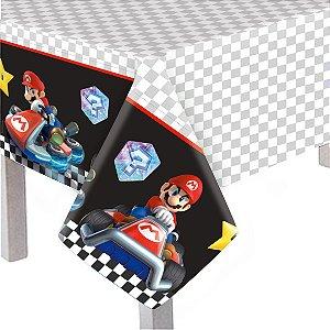 Toalha De Mesa Principal Festa Mario Kart - Cromus - Rizzo Festas