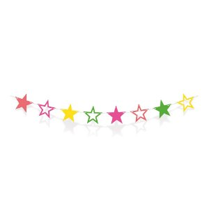 Faixa Decorativa Festa Neon - Cromus - Rizzo Festas