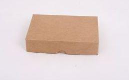 Caixa Presente N°0  Kraft 15x11x3.5cm 20 unidades - ASSK - Rizzo Embalagens