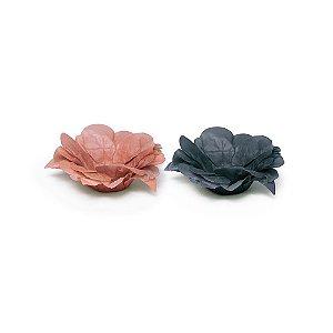 Forminha para Doces Seda Festa Rose Gold - 40 unidades - Cromus - Rizzo Festas