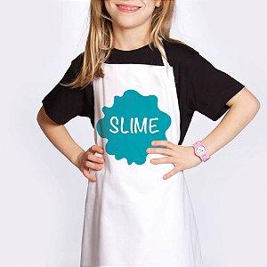 Avental Festa Slime - 1 unidade - Cromus - Rizzo Festas
