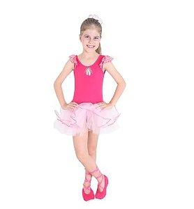 Fantasia Bailarina Pink G - 1 Unidade - Sula - Rizzo Festas