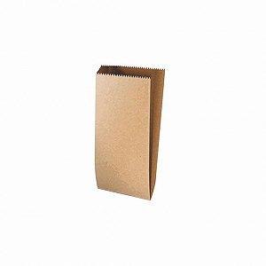 Saquinho de Papel Liso Pardo - 13x10cm - 25 unidades - Rizzo Festas