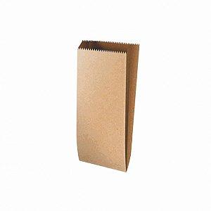 Saquinho de Papel Liso Pardo - 13x16cm - 25 unidades - Rizzo Festas