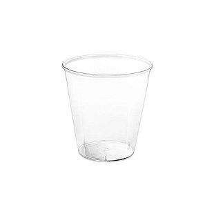 Copinho Acrílico para Doces 40ml Cristal Redondo - 10 unidades - Rizzo Festas