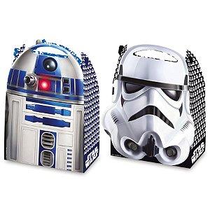Caixa Surpresa Festa Star Wars - 8 unidades - Regina - Rizzo Festas