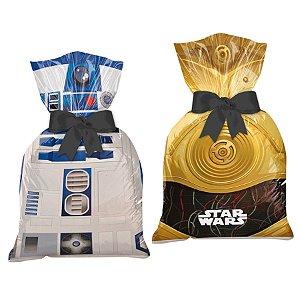 Sacolinha Surpresa Festa Star Wars - 8 unidades - Regina - Rizzo Festas