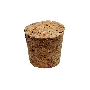 Rolha Cortiça Cônica 2 x 2cm - 1 Unidade - Rizzo Embalagens