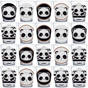 Copinho para Doces 40ml Festa Panda - 20 unidades - Rizzo Festas