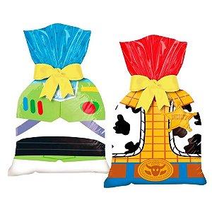 Sacolinha para Lembrancinha Festa Toy Story 4 - 8 unidades - Regina - Rizzo Festas