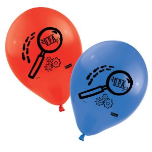 Balão Festa DPA Detetives do Prédio Azul - 25 unidades - Festcolor - Rizzo Festas