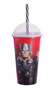 Copo Shake Plástico Thor - 500ml - 01 unidade - Plasútil - Rizzo Festas