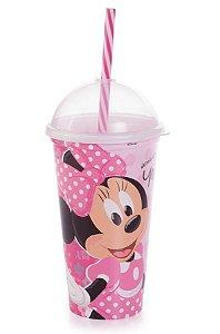 Copo Shake Plástico Minnie Mouse - 500ml - 01 unidade - Plasútil - Rizzo Festas