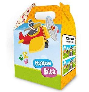 Caixa Surpresa Festa Mundo Bita - 08 unidades - Regina - Rizzo Festas