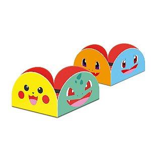 Porta Forminha para Doces Festa Pokemon - 50 unidades - Junco - Rizzo Festas